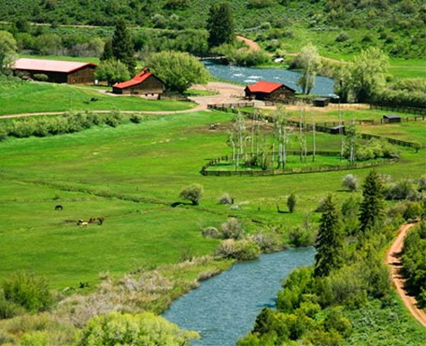 Greg Norman's 7-Lakes Ranch in Colorado.